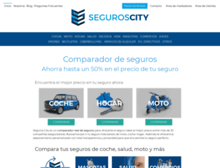m.seguroscity.com screenshot
