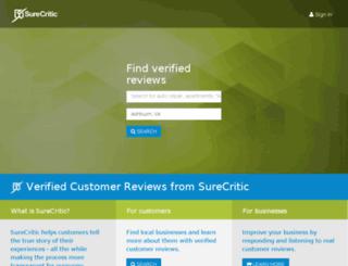 m.surecritic.com screenshot