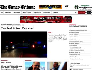 m.thetimes-tribune.com screenshot