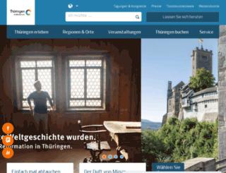 m.thueringen-tourismus.de screenshot