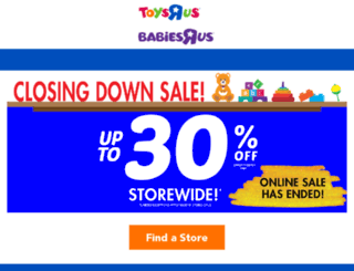 m.toysrus.com.au screenshot
