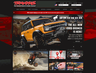 m.traxxas.com screenshot
