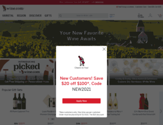 m.wine.com screenshot