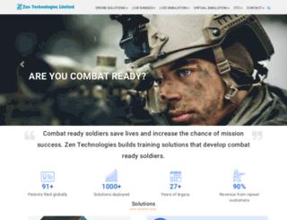 m.zentechnologies.com screenshot