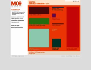 m09.migros.ch screenshot
