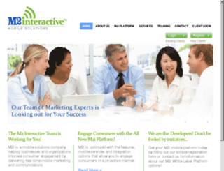 m2-interactive.com screenshot