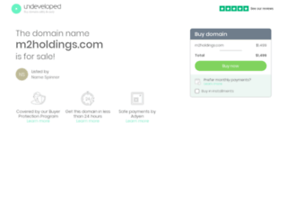 m2holdings.com screenshot