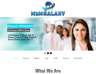 m2mgalaxy.com screenshot