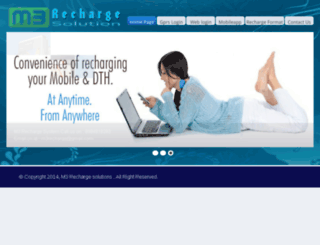 m3rechargesolution.com screenshot