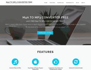 m4a-to-mp3-converter.net screenshot