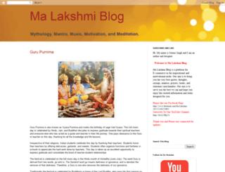 ma-lakshmi-blog.blogspot.in screenshot