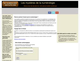 ma-numerologie-gratuite.com screenshot