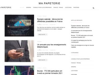 ma-papeterie.com screenshot