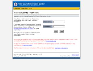 ma-trialcourts.org screenshot