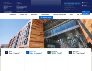 ma.edu screenshot