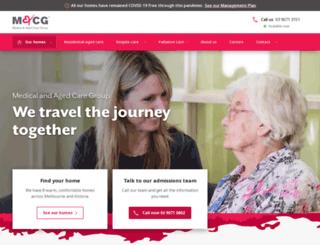 maacg.com.au screenshot
