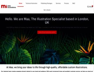 maaillustrations.com screenshot