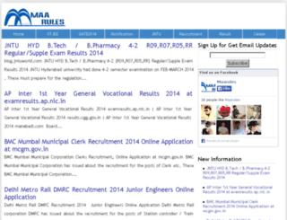 maarules.com screenshot