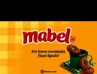 mabel.com.br screenshot