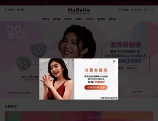 mabelle.com screenshot