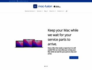 mac-fusion.com screenshot