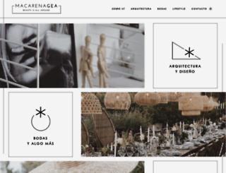 macarena-gea.com screenshot