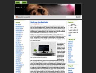 macbitz.wordpress.com screenshot