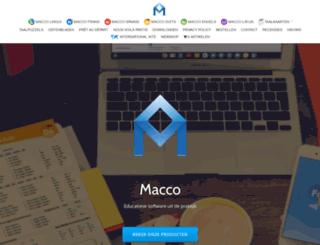 macco.nl screenshot