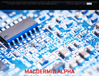 macdermid.com screenshot