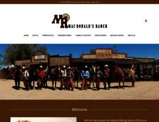 macdonaldsranch.com screenshot