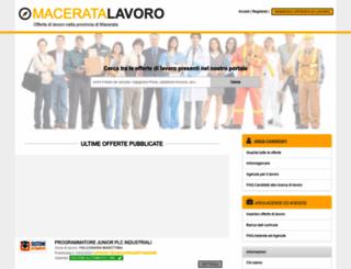 maceratalavoro.it screenshot