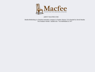 macfee.com screenshot