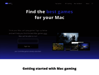 macgamerhq.com screenshot
