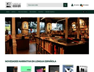 machadolibros.com screenshot