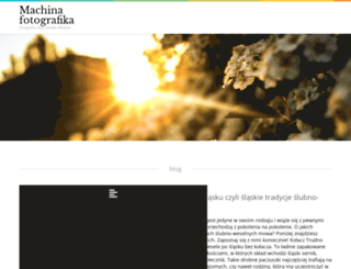 machinafotografika.pl screenshot