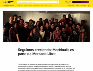machinalis.com screenshot