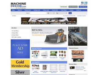 machinedekho.com screenshot