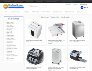 machinerunner.com screenshot
