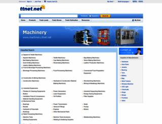 machinery.ttnet.net screenshot