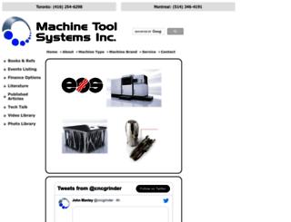 machinetoolsystems.com screenshot