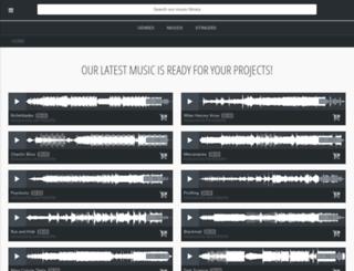machinimasound.com screenshot