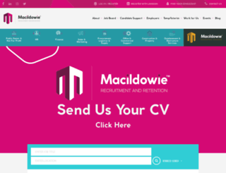macildowie.com screenshot