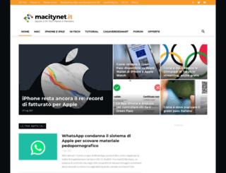macity.it screenshot