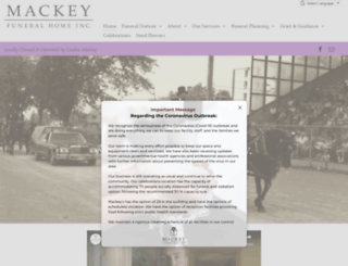 mackeys.ca screenshot
