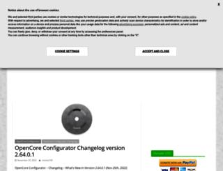 mackie100projects.altervista.org screenshot