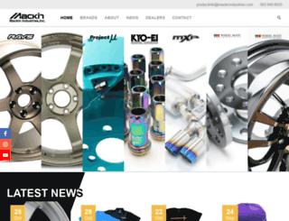 mackin-ind.com screenshot