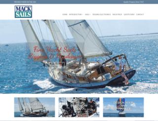 macksails.com screenshot