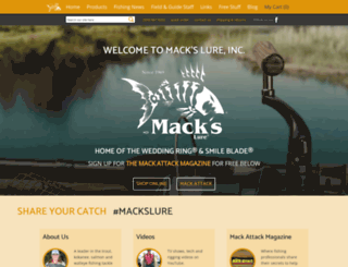 mackslure.com screenshot