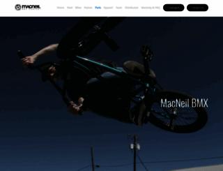 macneilbmx.com screenshot