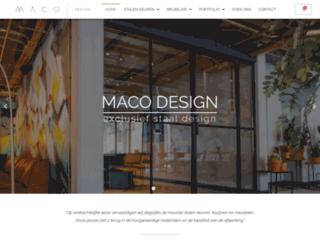 maco-design.nl screenshot